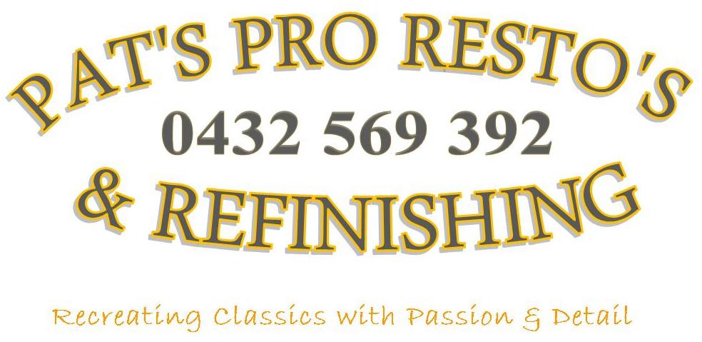 Pat's Pro Resto's & Refinishing